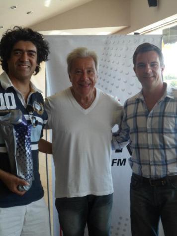 Con Mateico en Radio Mitre